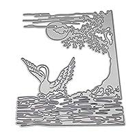 BINGHONG3 Swan Metal Cutting Dies Stencil DIY Scrapbooking Album Stamp Paper Card Embossing Crafts Decor