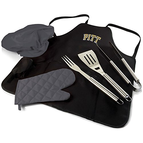 Picnic Time NCAA Pittsburgh Panthers BBQ Schürze Tote Pro - Pittsburgh-werkzeug-set