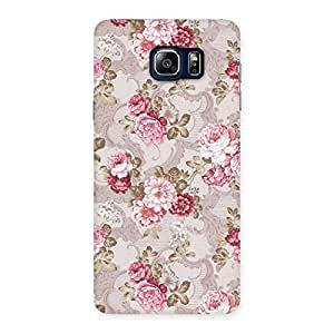 Neo World Floral Vintage Back Case Cover for Galaxy Note 5