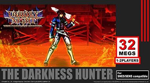 Unholy Night The Darkness Hunter PAL - neues SNES Game/ new SNES Game blue cartdridge/ blaues Modul