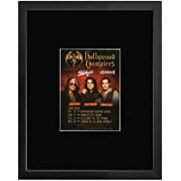 Stick It On Your Wall Hollywood Vampires - June 2018 UK Tour Dates Framed Mini Poster - 28.5x23.3cm preiswert