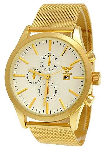 ny-london-designer-montre-chronographe-pour-homme-avec-affichage-de-la-date-blanc-or-avec-boite-mont