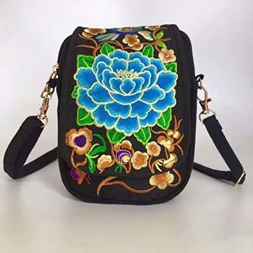 Bobopai Sale Clearance Women Handbags Ladies Vintage Printing Canvas Messenger Bag College Girl Casual Travel Purse Cosmetic Bag Summer Beach Bag Small Shoulder Bag Crossbody Bag (B3) -