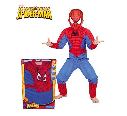 Box Kostüm Kind - Rubie 's-Kinder-Kostüm Spiderman musculoso in Box (880061-l)
