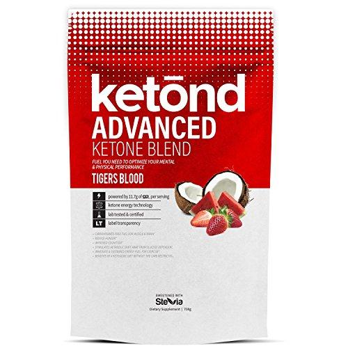 Ketond Nutrition Suplemento avanzado de cetona - 11,7 g de goBHB por porción (30 porciones) BHB (Beta-hidroxibutirato) suplemento para bajar de peso (sangre de tigres)
