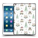 Head Case Designs Offizielle Kristina Kvilis Muster 2 Weihnachtstiere 2 Ruckseite Hülle für iPad Air (2013)