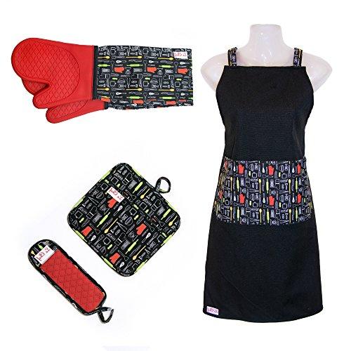 LCM Home Fashions Luxuriös weichem Micro Mink Sherpa Decke Überwurf Paw Kitty Fisch Print Plüsch Überwurf Decke, Polyester-Mischgewebe, rot, 50 x 60 Inches -