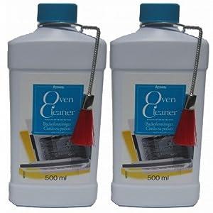 2 x Ofenreiniger, Backofenreiniger AMWAYTM – mit Pinsel zum Auftragen – Gel Oven Cleaner – 2 x 500 ml – Amway – (Art.-Nr.: 0014)