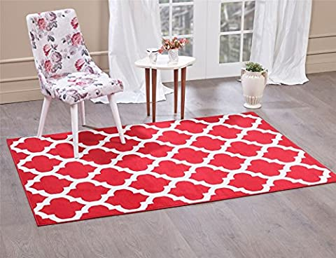 Trendy Tapis 5309, Red, 240x330 cm - 8'x11' ft