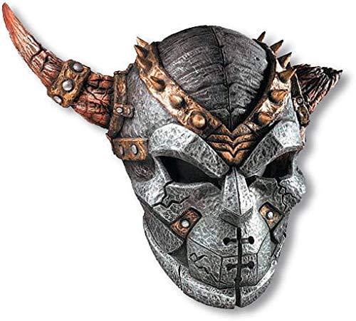 Warlord Kostüm Für Erwachsenen - Horror-Shop Warlord Latex Maske