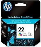 HP 22 Farbe Original Druckerpatrone für HP Deskjet, HP Officejet, HP PSC