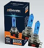 2x H15 8500K 12V 15W / 55W, Super White Vision Xenon Look, Lampen Birnen, 100% passgenau