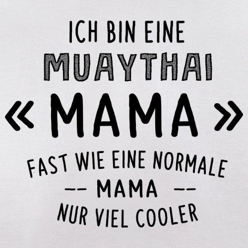 Ich bin eine Muathai Mama - Herren T-Shirt - 13 Farben Weiß