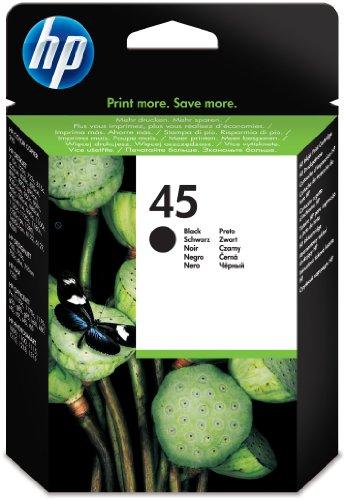 Preisvergleich Produktbild HP 45 Schwarz Original Tintenpatrone groß (Blisterverpackung)
