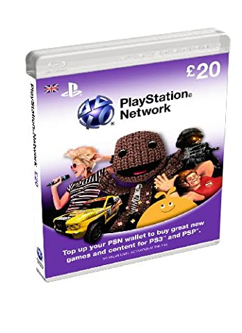 PlayStation Network Card - £20 (PS3) [import anglais]