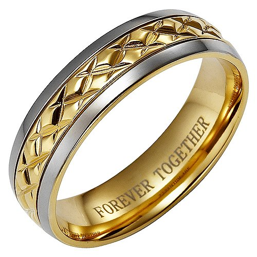 brand-new-mens-titanium-ring-engraved-with-forever-together-comes-in-a-free-gift-box
