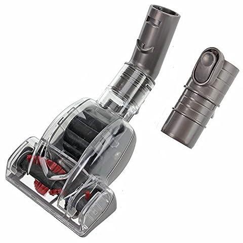 SPARES2GO Mini Turbo Brosse Turbine pour aspirateur