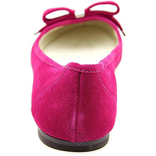 Michael Michael Kors Kiera Ballet Daim Ballerines Deep Pink