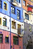 Posterlounge Acrylglasbild 120 x 180 cm: Hundertwasser-Haus von Neil Farrin/Robert Harding - Wandbild, Acryl Glasbild, Druck auf Acryl Glas Bild