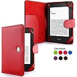 Tasche für Tolino von Bertelsmann Weltbild Thalia Telekom Hugendubel - bestes Case für Tolino Shine E-Book Reader - rot red