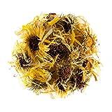 Caléndula flor maravilla orgánica hojas - Ideal para postres caléndula flores o margarita 100g