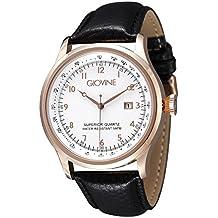 Reloj cuarzo para hombre Giovine Casanova Tempo OGI004/T/L/RG/BN/NR