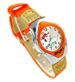 Best Geneva looking watch - NEW Lovely Snoopy children kids cartoon Watches Textile Review