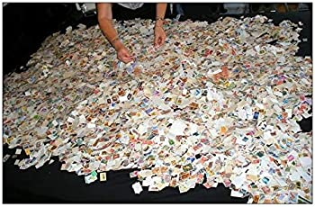 Worldwide 500 All DIFF Used Stamps Collection - STAMPTREASURE LOT