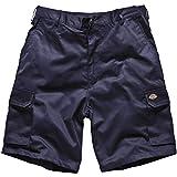 Pantalones cortos para hombre Dickies Redhawk Multi bolsillos Cargo azul azul marino 32