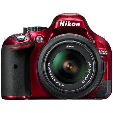 Nikon D5200 - Cámara réflex digital de 24.1 Mp (pantalla de 3