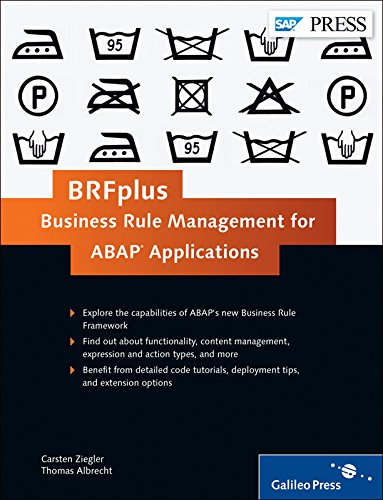 eBookStore Best Sellers: BRFplus – Business Rule Management for ABAP Applications ePub