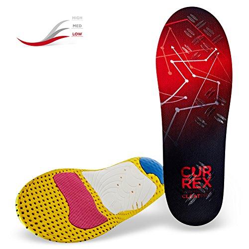 CURREX CleatPro Sohle Low Profile. Deine neue Dimension des Fußballs. Performance Einlegesohle für Fußball- oder Stollen-Schuhe. Gr EU 37-39