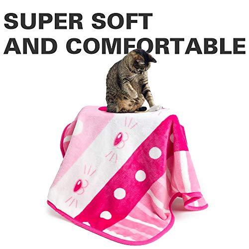 Allisandro Hundedecke Katzendecke, Größe 80 x 60 cm flauschig, hochwertig, waschbar, warm,...