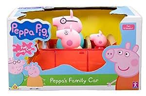 peppa pig 33222 voiture push et go jeux. Black Bedroom Furniture Sets. Home Design Ideas