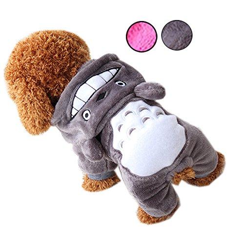 d Kostüm Winter Katze Hoodies Hund Baumwolle Bekleidung Mantel Jumper für Welpen Kleine Mittelgroße Hunde Overall Haustier Kleidung Costumes07 (Alle Zeit Beste Kostüme)