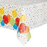 Unique Party 58213Foil Glitzy Joyeux Anniversaire Nappe en Plastique