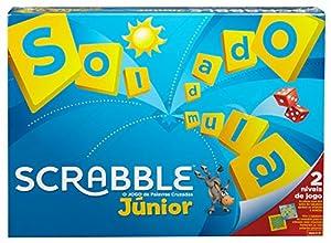 Mattel Games Scrabble junior, portugués, juego mesa niños (Mattel Y9827)