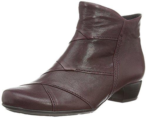 Gabor Halter, Damen Kurzschaft Stiefel Rot (dark Burgundy Leather)