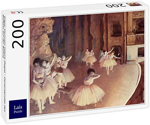 Lais Puzzle Edgar Germain Hilaire Degas - Generalprobe des Balletts auf der Bühne 200 Teile (Das Teilen Der Bühne)