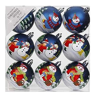 Dekorierte-Weihnachtskugeln-Kunststoff-Motiven-Schneemann-Christbaumkugeln-Weihnachtskugeln-Kugeln-Christbaumschmuck-Deko-Weihnachten