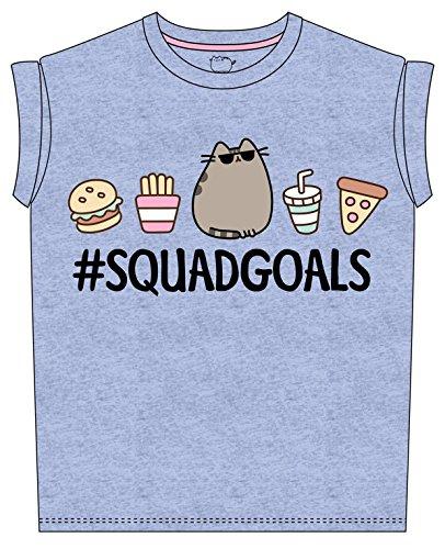 Plastic Head Women's Pusheen Squad Goals GRST T-Shirt
