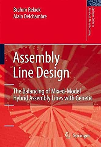 [(Assembly Line Design : The Balancing of Mixed-model Hybrid Assembly Lines with Genetic Algorithms)] [By (author) Brahim Rekiek ] published on (January, 2006)