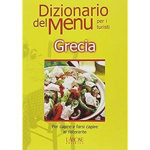 Dizionario del menu per i turisti. Per capire e fa