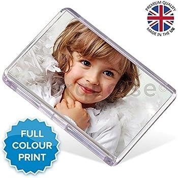 Personalised Custom Photo Gift Fridge Magnet 73 x 51 mmJumbo Size