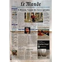 MONDE (LE) [No 17964] du 27/10/2002 - CORSE - LA VISITE DE SARKOZY ET LA NAISSANCE D'UN SECOND FLNC - L'IRAK A L'ONU - GEORGE W. BUSH ET LE SOUTIEN DE LA CHINE - CHEVENEMENT - L'AVENIR DU POLE REPUBLICAIN - JUSTICE - AU PROCES DES ATTENTATS DE 1995, LES PORTRAITS DES ACCUSES - MEDECINE - CANCER DE LA PROSTATE - DEPISTAGE, DIAGNOSTIC ET TRAITEMENTS - THEATRE - A BERLIN, UN IDIOT QUI FERA DATE - PORTRAIT - MIKLOS BOKOR, PEINTRE PARISIEN D'ORIGINE HONGROISE, OU LA VIE VUE DE DOS -