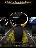MZ watch DM360portátiles reloj inteligente, llamadas manos libres/control de los medios de comunicación/mensaje de control/Control de la cámara para Android & iOS