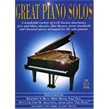 The Blue Book Great Piano Solos