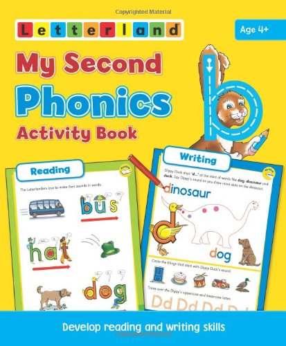 My Second Phonics Activity Book: Develop Reading and Writing Skills (Letterland) por Lisa Holt