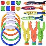 Juguetes de Piscina para Niños Buceo Bajo el Agua Natación Juguete TorpedoTiburones para Niños BG002