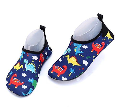 Nohler Life Kinder Wasser Schuhe Quick-Dry Beach Barfuß Aqua Socken Schuhe Junge Mädchen Kleinkind Pool Surfen Yoga Schwimmen Walking Dance